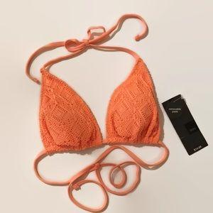 MOSSIMO    Peach Sorbet Cut Out Bikini
